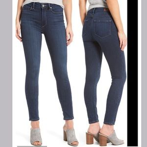 PAIGE Hoxton Ankle High Rise Skinny Jeans Size 29